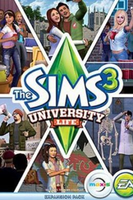 The Sims 3 University Life Origin Key GLOBAL