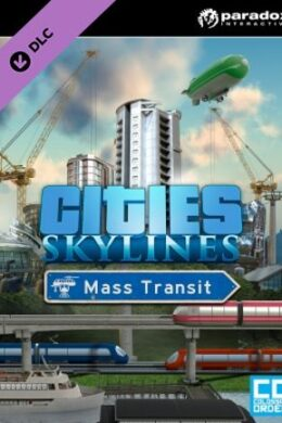 Cities: Skylines - Mass Transit Steam Key GLOBAL