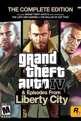 Grand Theft Auto IV Complete Edition Rockstar Key GLOBAL