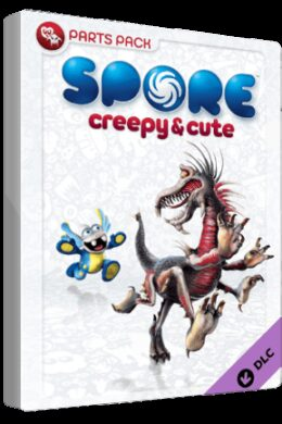 Spore Creepy & Cute Parts Pack Key Origin GLOBAL