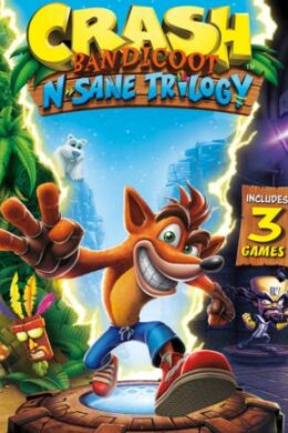 Crash Bandicoot N. Sane Trilogy Steam Key GLOBAL